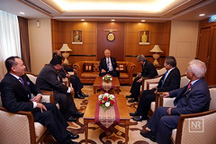 Kunjungan Hormat Oleh Ketua-Ketua Perwakilan Malaysia Yang Baru.