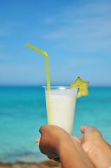 (renataml) Tags: summer sky beach nikon drink cuba playa pineapple santaclara warwick abacaxi pinacolada caribe verao starfruit caribbeansea bluesea cayosantamaria praua