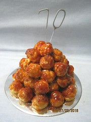 Croquembouche (Carol's Cakes & Classes, Broken Hill) Tags: croquembouche