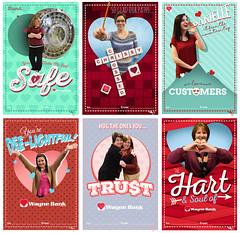 2016 Wayne Bank Valentines (Justin Roach Work Stuff) Tags: advertising design graphicdesign bank batman nepa brucewayne honesdale 570 waynebank