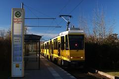 Kt4d Hohenschnhausen Zingster Strae (Hannes Eisenach) Tags: berlin tram berliner frhling bvg nahverkehr verkehrsbetriebe kt4d strasenbahn