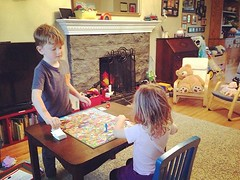 Board games!! Jack has been playing... (jennifercloss) Tags: siblings tgif boardgames candyland widn uploaded:by=flickstagram instagram:photo=1087259776355044853182128490