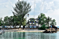 MegaZip (chooyutshing) Tags: singapore aerial sentosa flyingfox silosobeach adventurepark megazip imbiahhill