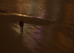 alone (Cosimo Matteini) Tags: london night pen person alone bank olympus southbank riverthames m43 mft ep5 cosimomatteini mzuiko45mmf18