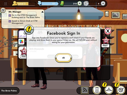 Kim Kardashian: Hollywood Social: screenshots, UI