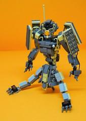 Decibelle_25 (Shadowgear6335) Tags: orange radio robot factory lego good technic hero bionicle mech moc shadowgear6335 bionicle2015