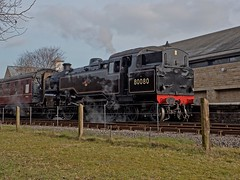 East Lancs Railway Spring Steam Gala 11th March 2016 (penlea1954) Tags: city spring railway wells lancashire east preserved gala 32 lancs 13065 34092 44871 80080
