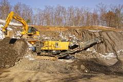 Uneven Distrubution (thetrick113) Tags: yellow machine equipment heavyequipment loader crush hdr komatsu processor excavator frontendloader shale rockcrusher wheelloader jawcrusher wa380 sonyslta65v pc360 komatsuwa380loader pc360jg 380jg komatsu380jgrockcrusher komatsupc360jgexcavator