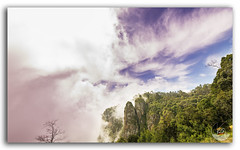 Beautiful view of Pillar Rocks of Kodaikanal! (FotographyKS!) Tags: park travel trees summer wallpaper vacation sky panorama cloud india mist mountain green tourism nature beautiful beauty weather horizontal stone spectacular landscape outdoors photography countryside high scenery colorful pattern natural bright wind outdoor background hill scenic culture sunny bluesky landmark hike tokina adventure valley leisure serene pillars picturesque preserve nikondigital tamil cloudscape slope tamilnadu attraction cloudysky kodaikanal hillstation territory nadu geological travelphotography ultrawideangle beautyinnature kreative beautyofnature palanihills cottonclouds photoborder pillarrocks southernslopes tokina1116mmf28 princessofhillstations thegiftoftheforest