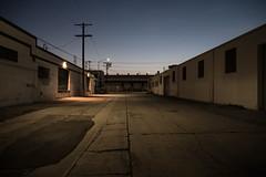 3rd St., LA (fhoerr) Tags: sunset sky twilight downtownla deserted dtla losangelesriver downtownlosangeles laskyline
