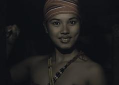 Evening at the Cogon Hut (The Native Eye) Tags: portrait beauty fashion nikon dslr ethnic 50mmf18 kalinga mountainbeauty