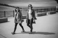 national arboretum - shannan and rhea (liam.jon_d) Tags: people blackandwhite bw monochrome walking mono arty outdoor walk australian australia arboretum canberra act nationalarboretum australiancapitalterritory capitalcity nationalcapital billdoyle canberraarboretum portraitimset nationalarboretumshannanandrhea