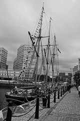 Canning Dock - Liverpool (Chris Dimond) Tags: bw liverpool ship 2015 portofliverpool canningdock