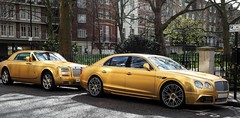 The golden age (sramses177) Tags: uk england urban london tower car gold carlton rollsroyce olympus knightsbridge vehicle billionaire luxury limousine luxe bentley omd jumeirah millionaire belgravia continentalgt em10 1240 luxusauto arabsupercar