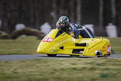 Tonfannau Road Racing Easter 2016 (Howie Mudge LRPS) Tags: road uk trees men grass tarmac sport yellow wales race speed easter concentration moving championship nikon track bokeh sunday helmet cymru fast move racing telephoto d750 fullframe sidecar racer motorsport gwynedd concentrate tonfannau tamron150600mmvc