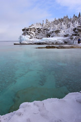 Bruce Peninsula National Park (Note-ables by Lynn) Tags: water landscape coast outdoor georgianbay shore nationalparks winterlandscape brucepeninsulanationalpark naturalresources brucecounty
