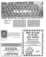 1986 AHS Football scanned newspaper article p003 dated August 30 1986 (ameshighschool) Tags: school sports newspaper football classmate classmates iowa scan highschool 1986 clipping highschoolreunion classreunion schoolmates schoolmate ahs athelete amesiowa ameshighschool ahsaa ahs1987 ameshighschoolalumniassociation ahs1986 ameshighclassof1986 ameshighclassof1987 1986ahs ahs1988 ameshighclassof1988 1987ahs 1988ahs