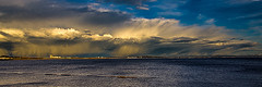 A Lot More Weather (Brian Travelling) Tags: snow water sunshine rain clouds scotland bluesky ayrshire saltcoats firthofclyde northayrshire