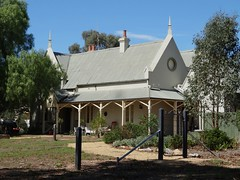 Dunolly. The Anglican Rectory designed by Bendigo architect William Vahland. Built in 1864 before the church was built in 1870. (denisbin) Tags: school church town hall catholic railway railwaystation anglican rectory polychromatic dunolly anglicanrectory