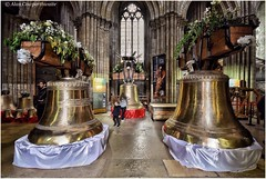 The Rouen cathedral bells to be rehung (alcowp) Tags: france architecture bells cathedral religion rouen normandie normandy historicbuilding campanology cloches