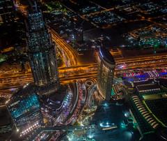 A view of the city (James S Connors) Tags: dubai uae unitedarabemirates burjkhalifa