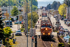 Fatal BNSF Train vs Pedestrian Incident 04/19/2016 (andrewkim101) Tags: county ford washington state police utility wa suv patrol k9 interceptor unit edmonds snohomish wsp