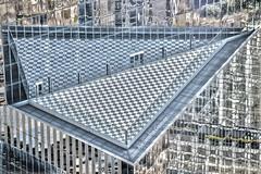 Polygonal (jagsayago) Tags: nyc newyork building architecture arquitectura terrace worldtradecenter edificio wtc terraza skycraper rascacielo