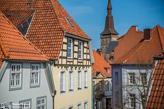 ber den Dchern Osnabrcks (thendele) Tags: city deutschland cityscape haus stadt owl nrw altstadt dach osnabrck huser ostwestfalen niedersachsen dcher vonoben hausgiebel