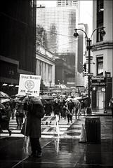 Wet in New York (Johannes Wachter) Tags: newyorkcity regen schirm