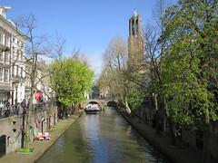 Utrecht Oude Gracht en Domtoren (Arthur-A) Tags: tower netherlands canal utrecht domtoren tour toren nederland gracht
