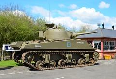 Sherman Lily Marlene at Toddington 23rd April 2016 (davids pix) Tags: war tank weekend military railway gloucestershire vehicles warwickshire sherman 2016 lilymarlene 23042016