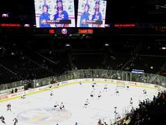 Brooklyn. Ice hockey match 9 April against Buffalo. (denisbin) Tags: newyork clock brooklyn subway icehockey metropolitanmuseumofart malachite urns goldclock frenchclock malachitevases