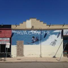The Ruin (DanakoShoots) Tags: hockey mural colorado denver coloradoavalanche