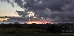 DSC_6687_Lr-edit (Alex-de-Haas) Tags: light sunset reflection netherlands clouds landscape fire licht zonsondergang nederland thenetherlands wolken dyke dijk dike landschap noordholland vuur reflectie petten coastalarea spreeuwendijk kunstgebied