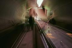 Day 9 (natalia.rw) Tags: light blur silhouette moody shadows sad metro montreal mysterious