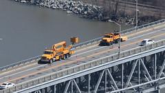 Road Work (blazer8696) Tags: bridge usa ny newyork unitedstates bearmountain maintenance 2016 ecw fortclinton img6769 t2016