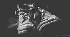 Worn (#Weybridge Photographer) Tags: slr canon studio boot eos boots adobe dslr timberland lightroom timberlands 40d