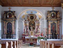 St.Johann Baptist, Pitzling (edgarhohl) Tags: saint bayern sebastian gemlde hlsebastian