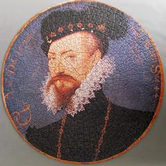 TUDOR PORTRAITS Double-sided Circular Jigsaw Puzzle (pefkosmad) Tags: hobby puzzle leisure jigsaw pastime