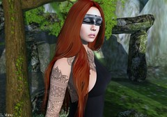 Serenity (Vix Stoanes) Tags: life white nature tattoo logo mask mesh little head bones second widow redheads slave zenith gingers gor maitreya gorean ryvolter