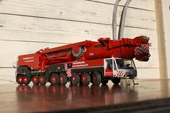 DSC03707 (Wilfred de Groot) Tags: big hobby cranes homemade precious rig heavy beautifull scalemodel heavyduty terex heavylifting wagenborg demag ac700