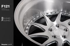 f121-brushed-polished (AG Wheels) Tags: wheel design paint stage painted coat wheels profile powder step finish designs lip custom standard rim rims avant garde multi forged finishing brushed avantgarde bespoke directional forging rotational powdercoat f121 agwheels