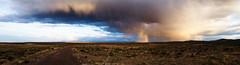 Desert Rainbow (SuperGZK) Tags: storm rainbow desert