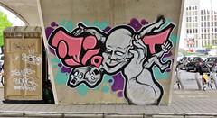 Idiot / Watermael-Bosvoorde - 22 apr 2016 (Ferdinand 'Ferre' Feys) Tags: brussels streetart graffiti idiot belgium belgique belgi bruxelles urbanart graff brussel graffitiart idio bxl artdelarue urbanarte
