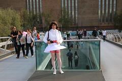 LONDON_011164 (Kira Dede, please comment my photos.) Tags: london stockings lingerie upskirt crossdresser 2015 kirad kiradede