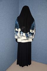 Warm Fleece Jacket (Buses,Trains and Fetish) Tags: winter hot girl hijab torture fleece niqab maid anorak slave burka chador