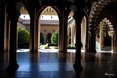 Palacio de la Aljafera. Zaragoza (@morenox) Tags: zaragoza aragn aljafera palaciodelaaljafera cortesdearagn