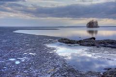 Joensuu - Finland (s.niemelainen) Tags: lake ice nature suomi finland landscape spring finnland sony north scandinavia hdr maisema finlandia joensuu luonto jrvi j karjala kevt pyhselk kuhasalo carelia pohjois a6000 kalmonniemi sonya6000