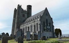 The former Church of Ireland church at Lusk! (swordscookie) Tags: church communitycentre graves monastery lusk gravestones roundtower stmaur fingal cofi normantower northcountydublin stmaccullin