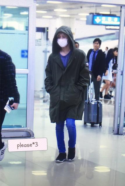 160427 Taemin @ Aeropuerto Gimpo {Llegada a Corea} 26706279936_970988f114_z